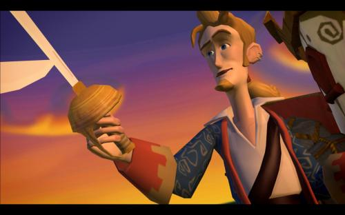Guybrush With Sword