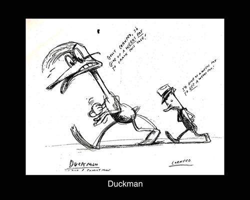 DUCKMAN DRAWING #1