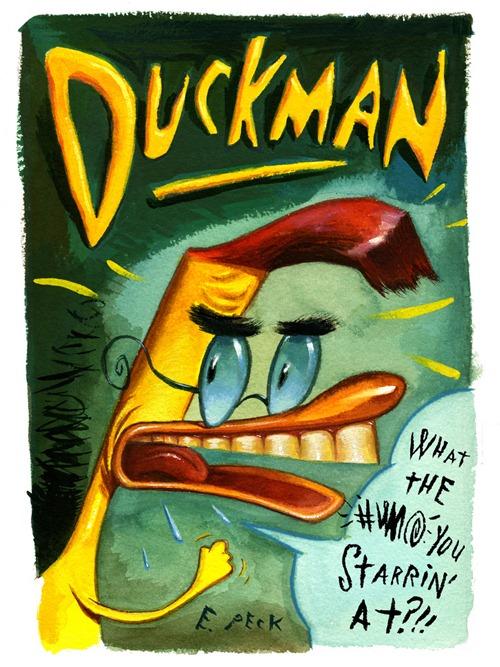 DUCKMAN DVD COVER