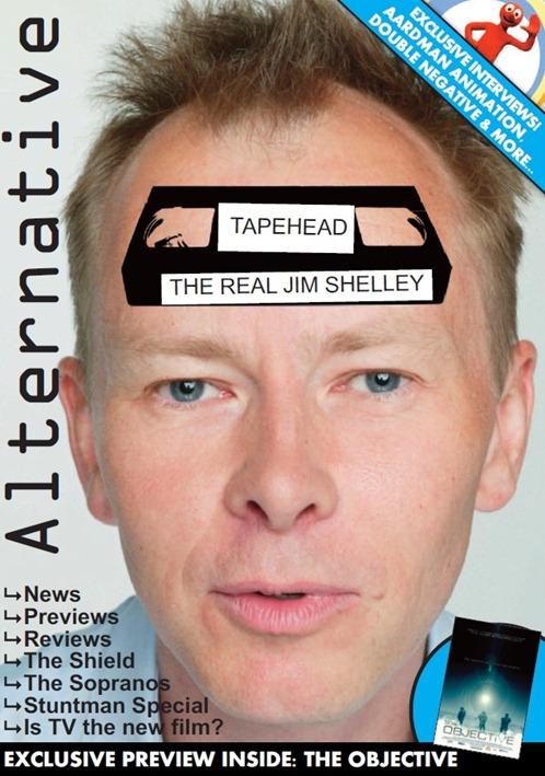Alternative Magazine Cover