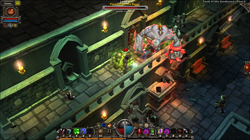 torchlight boss