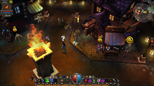 torchlight town