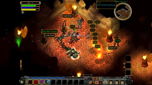 DinsCurse gameplay1