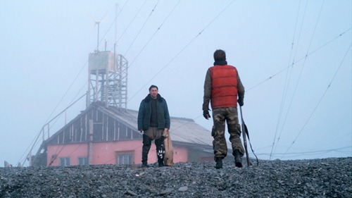 Pavel (Grigoriy Dobrygin) and Sergei (Sergei Puskepalis) Long Shot
