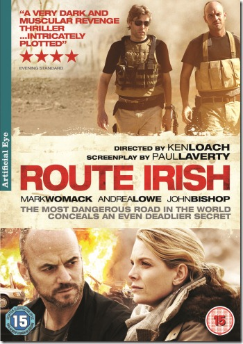 ROUTE IRISH  - DVD SLEEVE - 2D