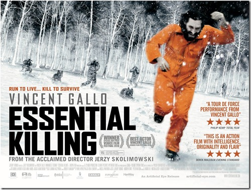 Essential Killing Poster UK