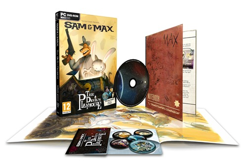 Sam and Max The Devils Playhouse Editions contents packshot