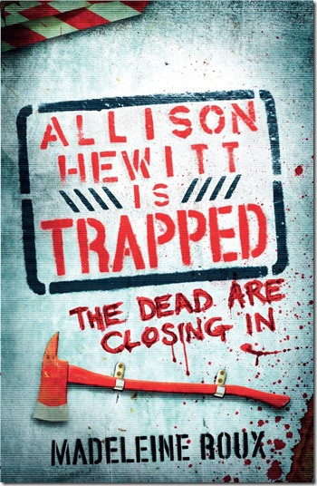 Allison Hewitt Is Trapped Cover