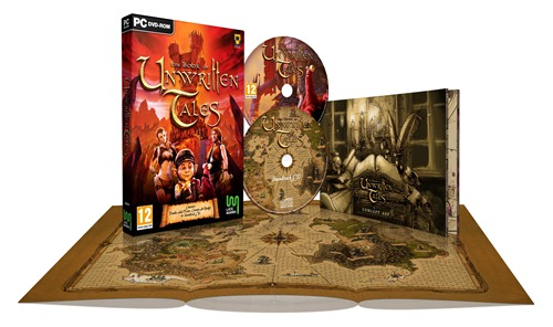 The Book of Unwritten Tales xploded packshot