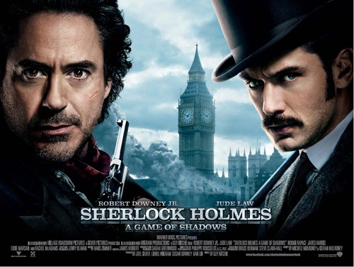 Sherlock Holmes A Game of Shadows UK Poster