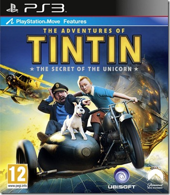 The Adventures of Tintin The Secret of the Unicorn PlayStation 3