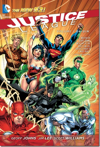 Justice League Volume 1 Origin