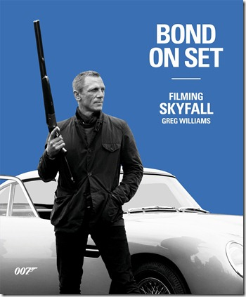 Bond on Set Filming Skyfall
