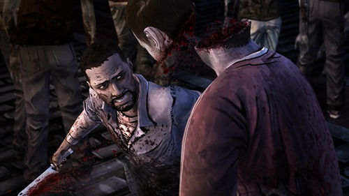 twd-ep-5-screenshot-lee-cuts-zombie-head-in-two