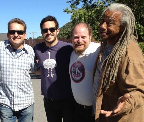 Dave Fennoy with Julian Kwasneski, Sean Vanaman and Jory Prum