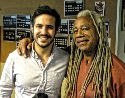 Dave Fennoy with Sean Vanaman