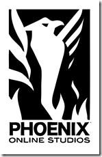 Phoenix Online Studios logo black