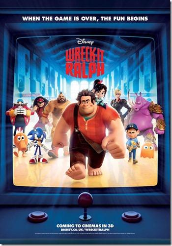 Wreck-It Ralph UK Poster
