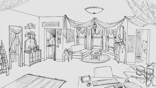 berklee_melissa's_apartment_lineartWIP005