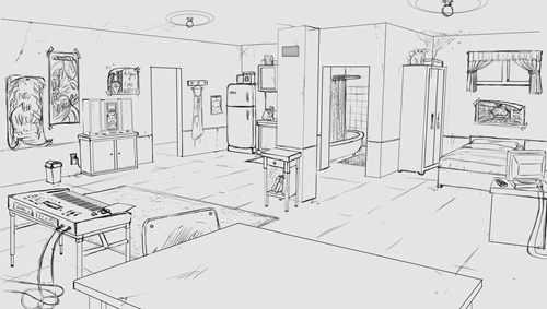 KelseyApartment_Lineart_WIP8
