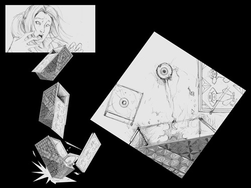 OpenPuzzleBox_all Panels_Lineart