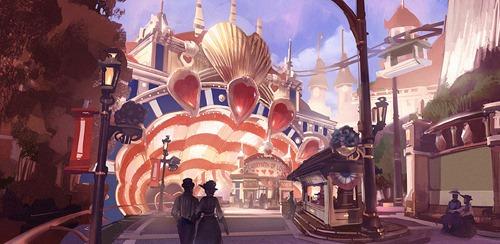 Bioshock Infinite Concept Art Art Director
