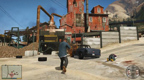 Grand Theft Auto V - Gameplay Trailer_13