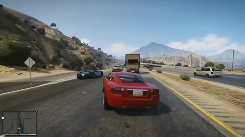 Grand Theft Auto V - Gameplay Trailer_16