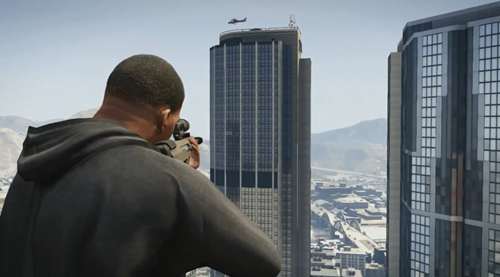 Grand Theft Auto V - Gameplay Trailer_9