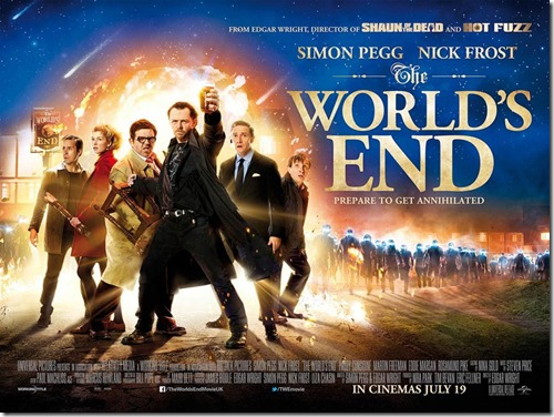 The World's End UK Poster