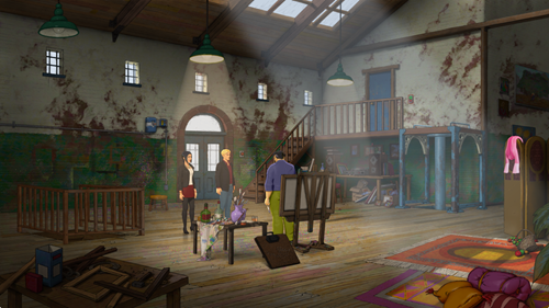 Broken Sword 5 - Hobbs' Studio