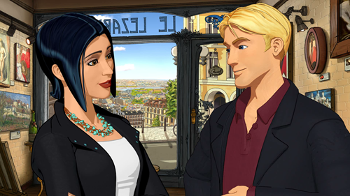Broken Sword 5 Intro - George and Nico