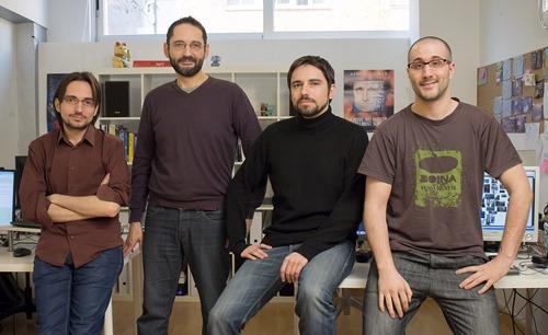 FICTIORAMA STUDIOS - Team in office 02