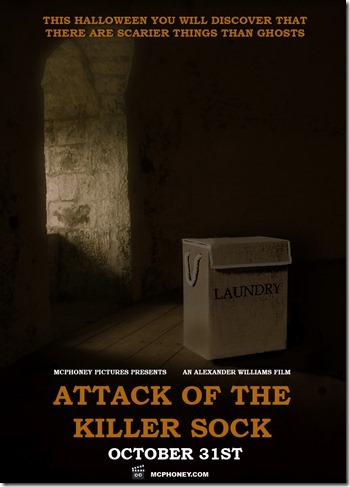 Attack of the killer sock poster mcphoney4