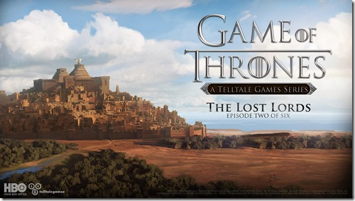 Game of Thrones Episode 2 – The Lost Lords