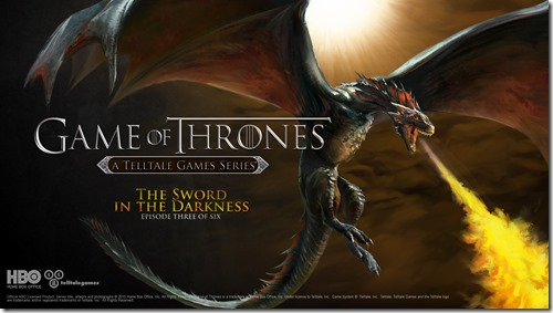 Game of Thrones Episode 3 The Sword in the Darkness