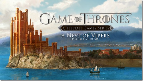 GameOfThronesEpisode5ANestOfVipers