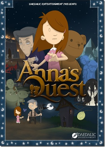 Anna's Quest Cover