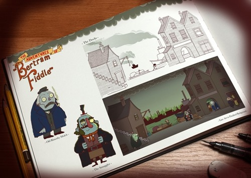 Bertram Fiddle Art Book