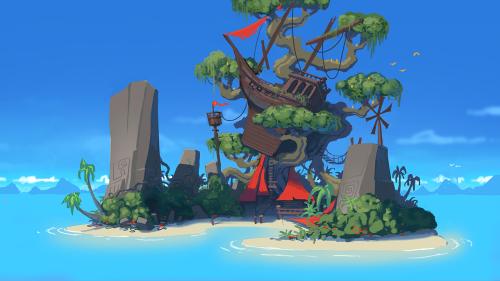 The Journey Down: Chapter Three - Dodo Island