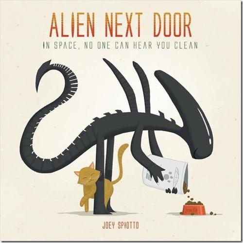 Alien Next Door - Joey Spiotto