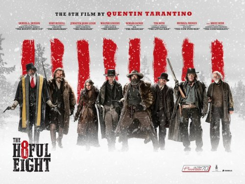 The Hateful Eight UK Poster