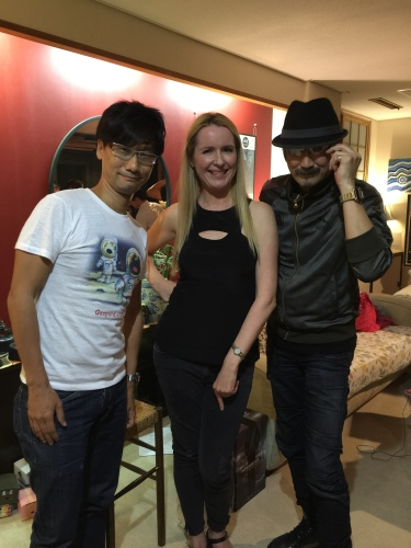 Kojima, Donna, Otsuka night of MGSV launch