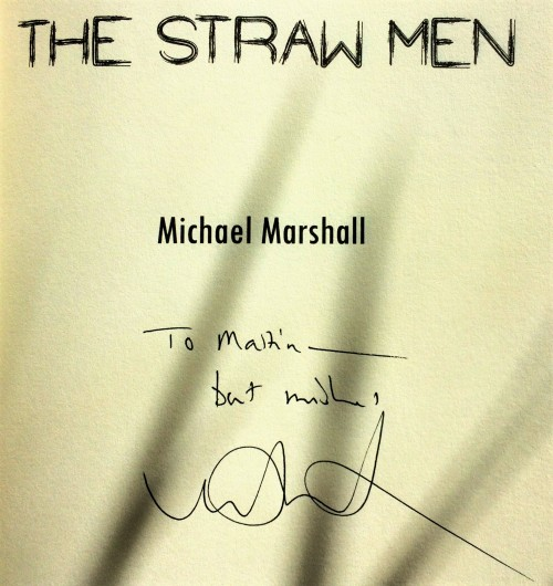 The Straw Men Signed Copy