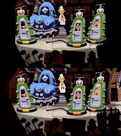 Day of the Tentacle Classic Vs Remastered