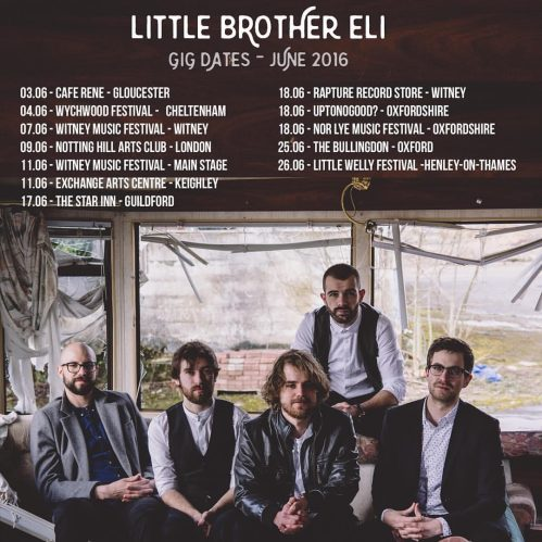 Little Brother Eli Gig Dates June 2016
