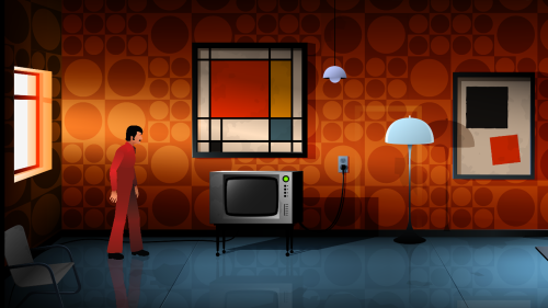 The Silent Age screenshot 04 - 70s room