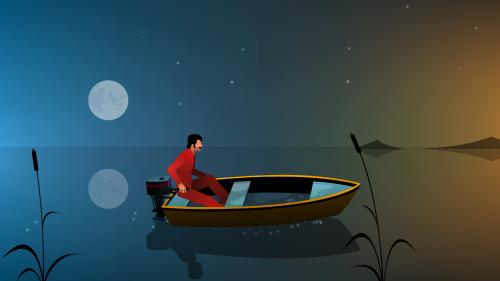 The Silent Age screenshot 06 - Sailing