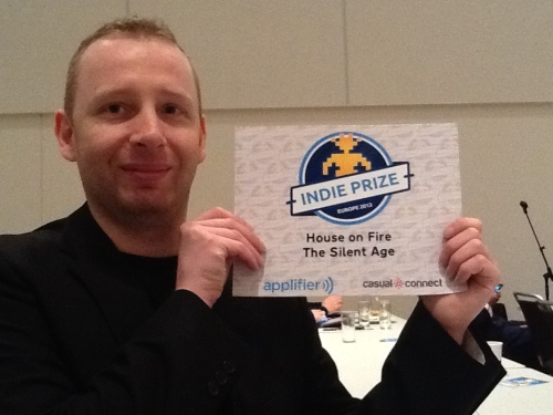 The Silent Age won the Casual Connect 2013 Indie Prize