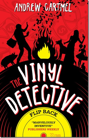 The Vinyl Detective Flip Back by Andrew Cartmel